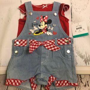 Mini Mouse 🐭 overalls